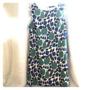 Marimekko Meloni cotton pear dress size 38
